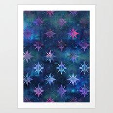 Bohemian Night Skye Art Print