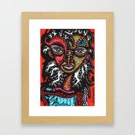 EYES OF INTENSE BEAUTY THE FORTH Framed Art Print