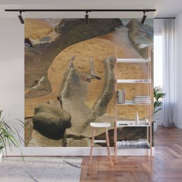 Rock at the Seaside Wall Mural