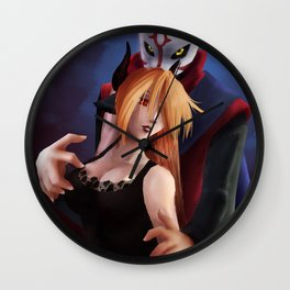 Black Rom SFW Wall Clock