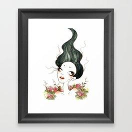 In Roses Framed Art Print