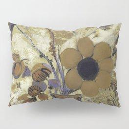 Etruscan Vase with Flowers - Odilon Redon Pillow Sham