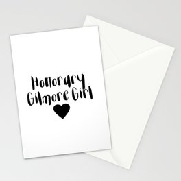 Honorary Gilmore Girl Stationery Cards