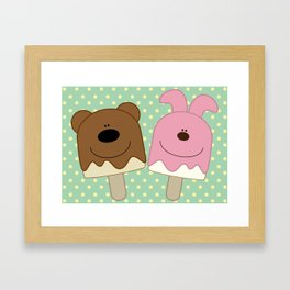 Candy bar Framed Art Print