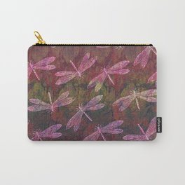 Dragonfly Late Summer Dance Carry-All Pouch