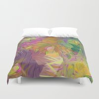 kindle Duvet Covers featuring alba by giancarlo lunardon