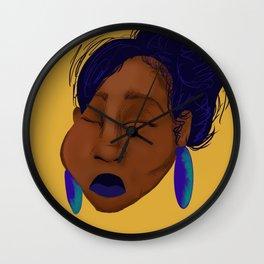 Southern Bleu Wall Clock