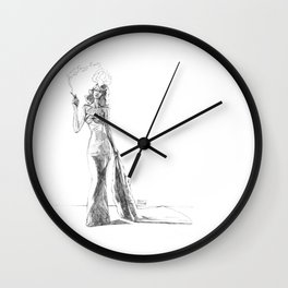 The Noir Style 1 Wall Clock