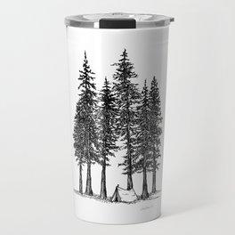 Camping with giants Travel Mug
