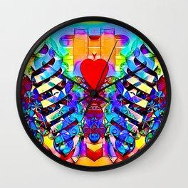 In my heart Wall Clock