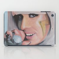 poker iPad Cases featuring Poker Face by LilKure