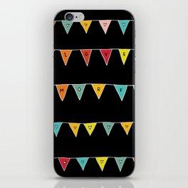 Love More (Black) iPhone Skin