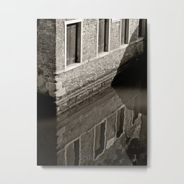 Reflections of Venice Metal Print
