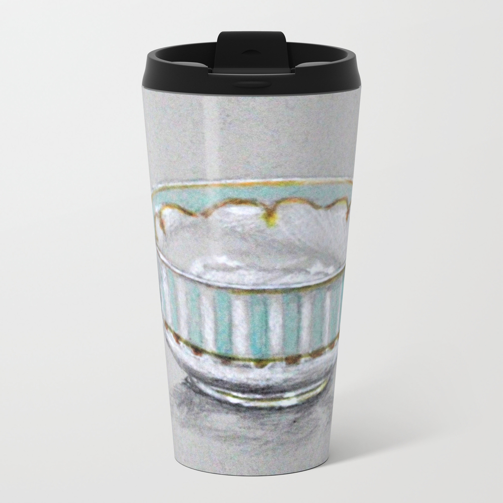 A Cup Of Tea Metal Travel Mug by Afekwo MTM8785165