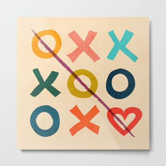 xoxo Love Metal Print