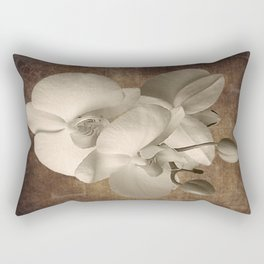 Vintage Flowers Digital Collage  2 Rectangular Pillow