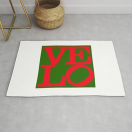 Velo Love – Logo PoP – June 12th – 200th Birthday of the Bicycle Rug