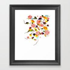 Floral Painting Framed Art Print