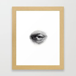 Eye Study Sketch 4 Framed Art Print