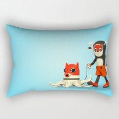 Deeryk and DaPet Rectangular Pillow