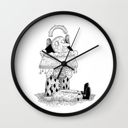 Head Dress Wall Clock