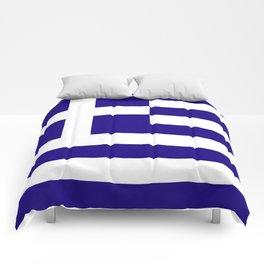 Greece flag emblem Comforters