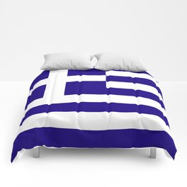 Greece flag emblem Comforters