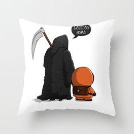 Let's go home Throw Pillow