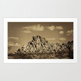 Rock Pile #3 Art Print