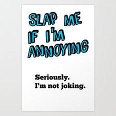 SLAP Art Print