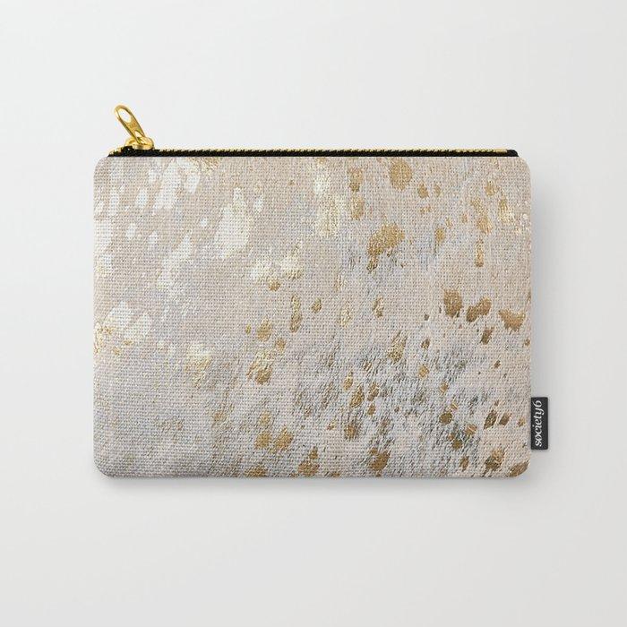 Gold Hide Print Metallic Tasche
