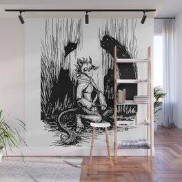 Silent Night Horror Wall Mural