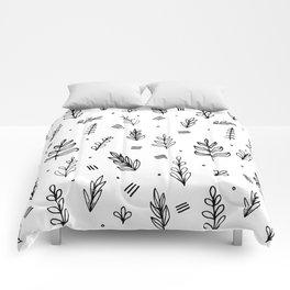 Leaf Pattern Comforters
