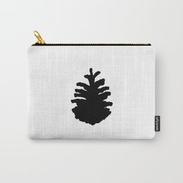 Pinecone Silhouette Carry-All Pouch