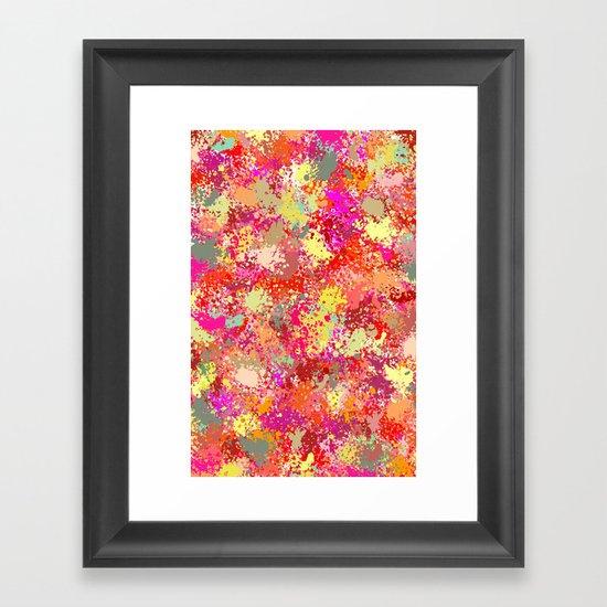 Sprinkle Framed Art Print