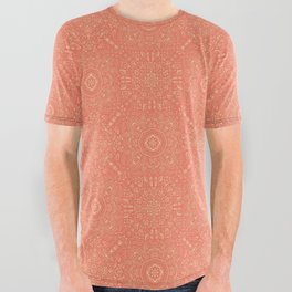 Fine China - Coral All Over Graphic Tee
