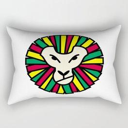 Lion Rastafari Rectangular Pillow