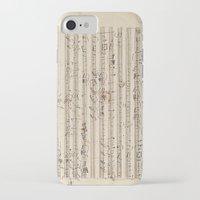 mozart iPhone & iPod Cases featuring Mozart by Le petit Archiviste