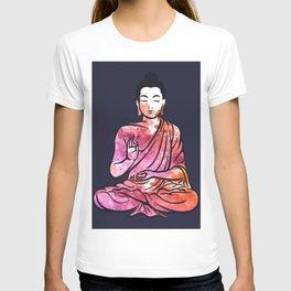 abstract lord Buddha T-shirt