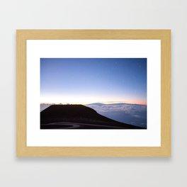 Haleakala Sunrise 4 Framed Art Print