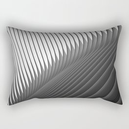 Architexture B&W Rectangular Pillow