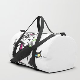 Witch and cat Duffle Bag
