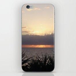 Break of Day - Wickham Point , Caloundra Australia iPhone Skin