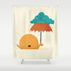 Lighten Up! Shower Curtain