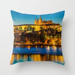 PRAGUE 002A Throw Pillow