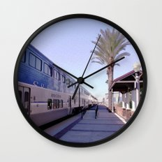 A Traveler's Perspective Wall Clock