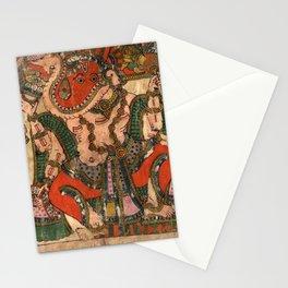 Hindu Krishna Ganesh Tapestry Stationery Cards