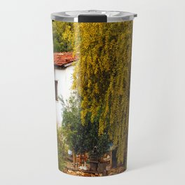 Alone Again in the Forest Travel Mug