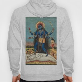 Hindu Destruction Goddess Kali 24 Hoody