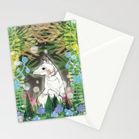 In the Midnight Garden Stationery Cards